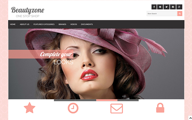 BeautyZone EBay Template