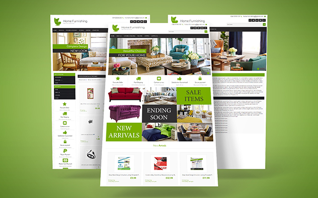 Home Furnishing EBay Template